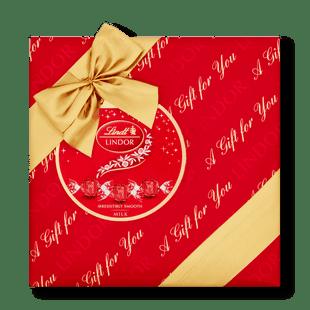 Lindt Lindor Milk Gift Wrapped Box 287g