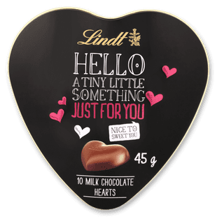 Lindt HELLO Just For You Heart Tin 45g