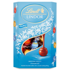 Lindt Lindor Assorted Milk & White Truffles 337g