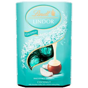 Lindt LINDOR Coconut Truffles 200g