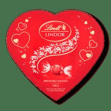 Lindt Lindor Armour Heart Milk Truffle Box 160g