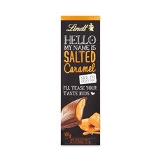 Lindt HELLO Salted Caramel Bar 100g