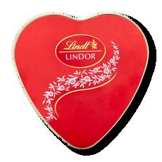 Lindt Lindor Heart Tin 50g