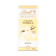 white vanilla chocolate bar - Lindt Excellence white vanilla chocolate