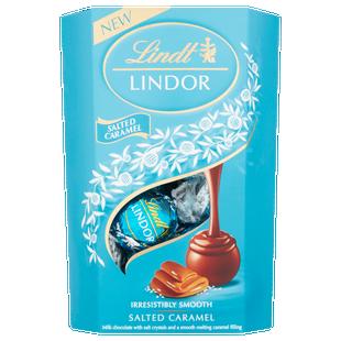 Salted Caramel Truffles - Lindt Lindor Salted Caramel Truffles