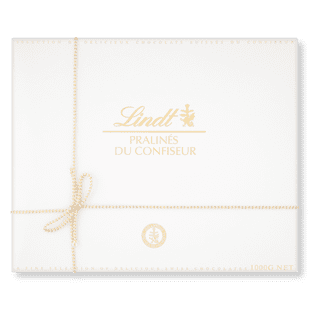 1kg box of chocolates - Lindt Pralines du Confiseur