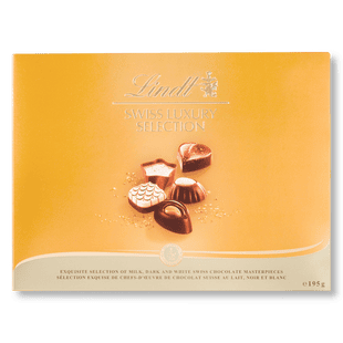 Lindt Swiss Luxury Collection - 195g box of chocolates